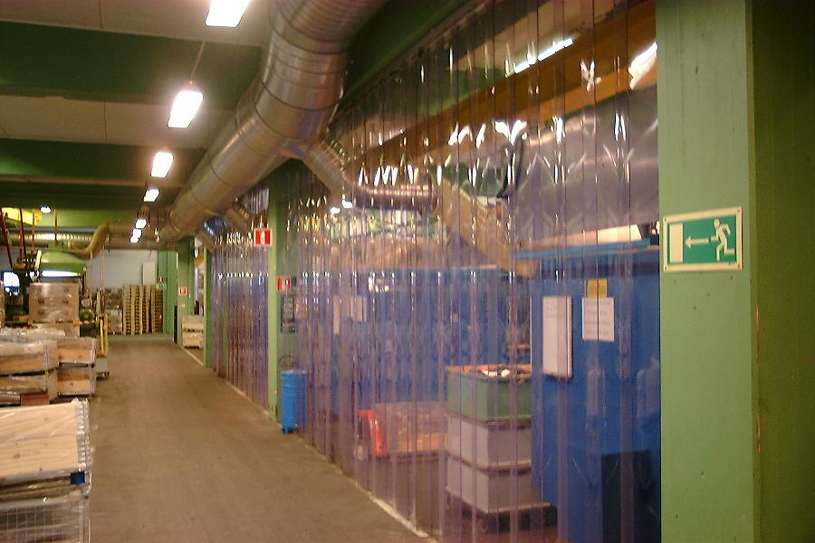 PVC-ridå