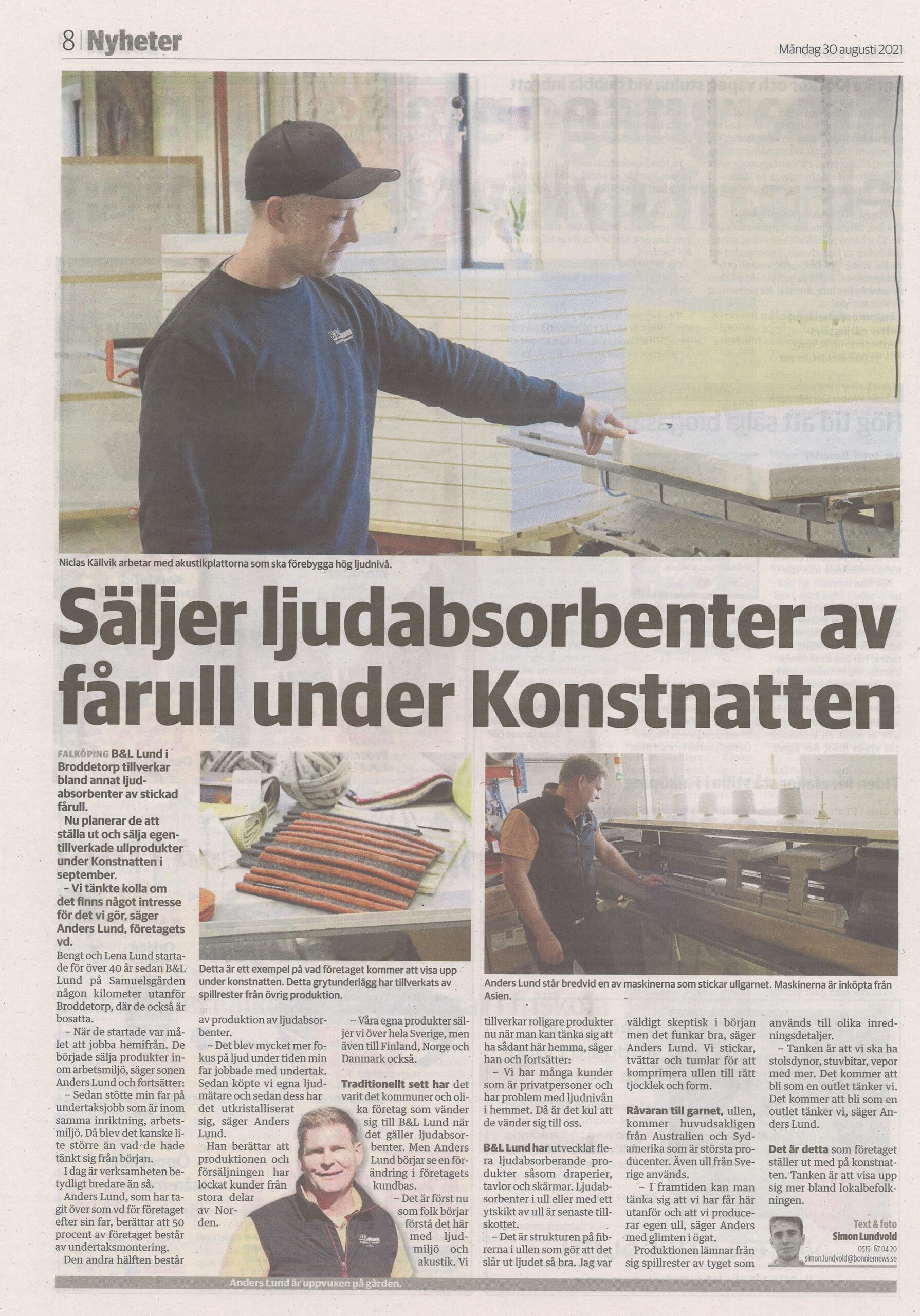 Artikel-Falköpingstidning-Konstnatten